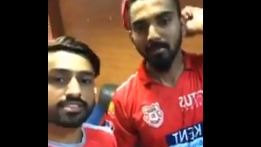 WATCH: KL Rahul and Karun Nair mock Royal Challengers Bangalore