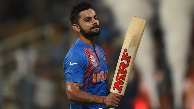Virat Kohli slipped to 3rd spot in rankings, thanks to him missing the Sri Lanka T20I series | AFP