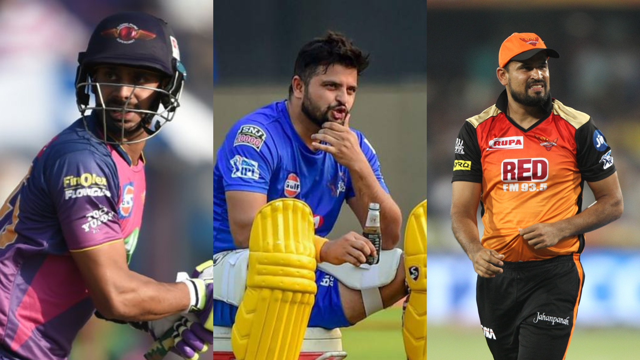IPL 2020: 5 potential replacements for Suresh Raina in Chennai Super Kings