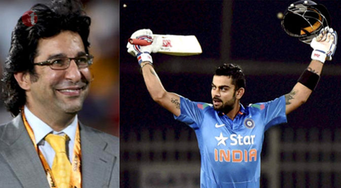 Watch: Wasim Akram hails Virat Kohli for being a complete sportsman on and off the field