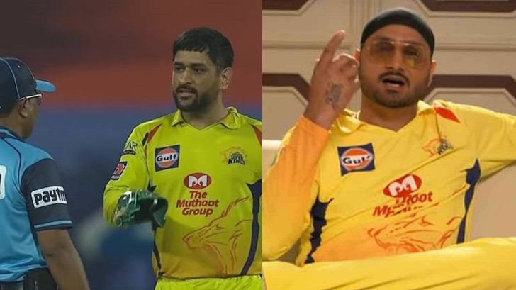 IPL 2020: CSK fans angry over Harbhajan Singh's reaction to Dhoni- Reiffel 'wide controversy'