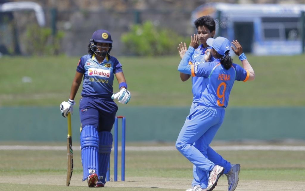 Indian women's team is currently in Sri Lanka for a limited overs tour | AP