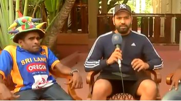 Nidahas Tri-series 2018: Rohit Sharma learns Sinhalese language from Sri Lanka fans
