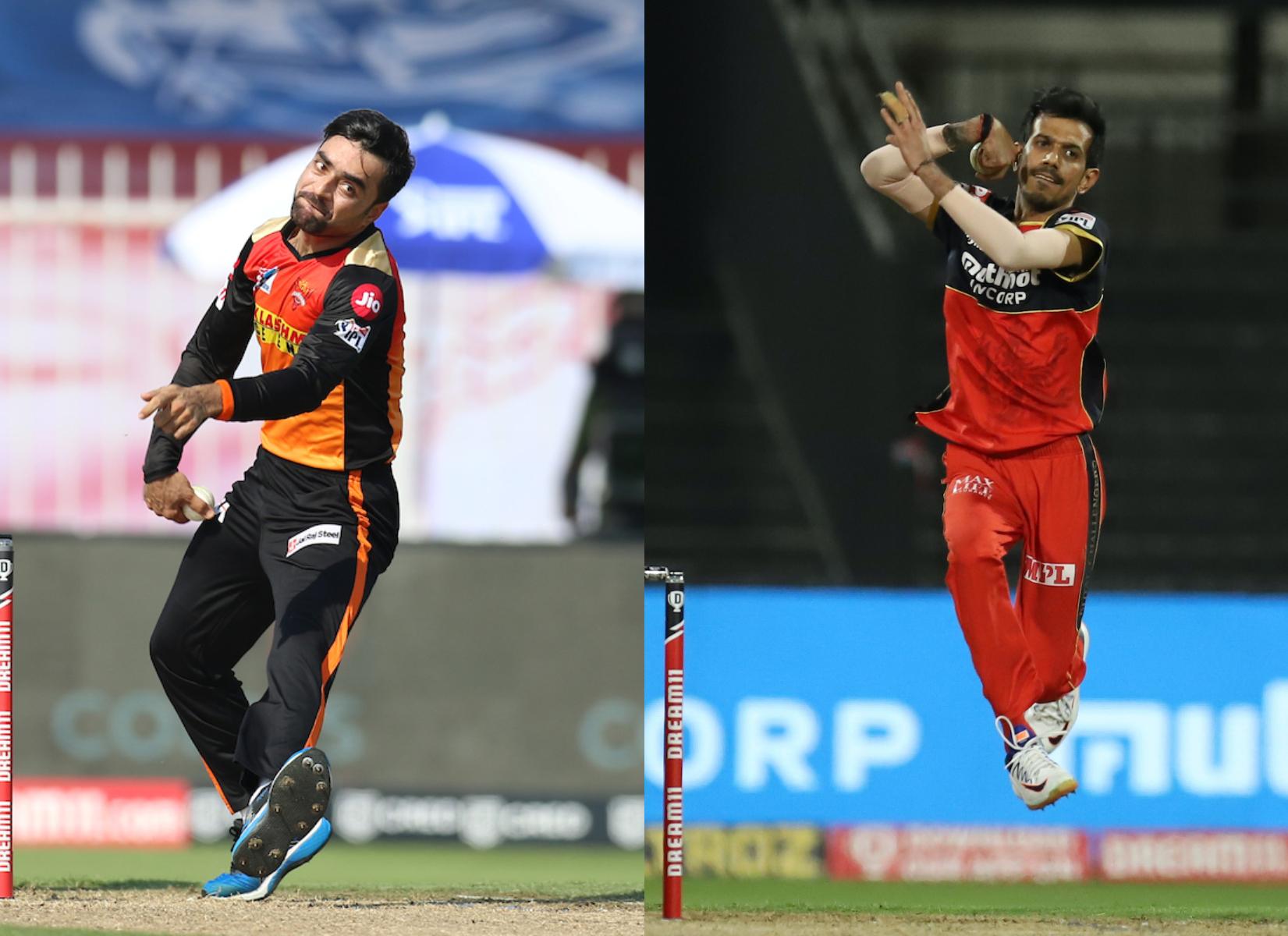 Rashid Khan and Yuzvendra Chahal | BCCI/IPL