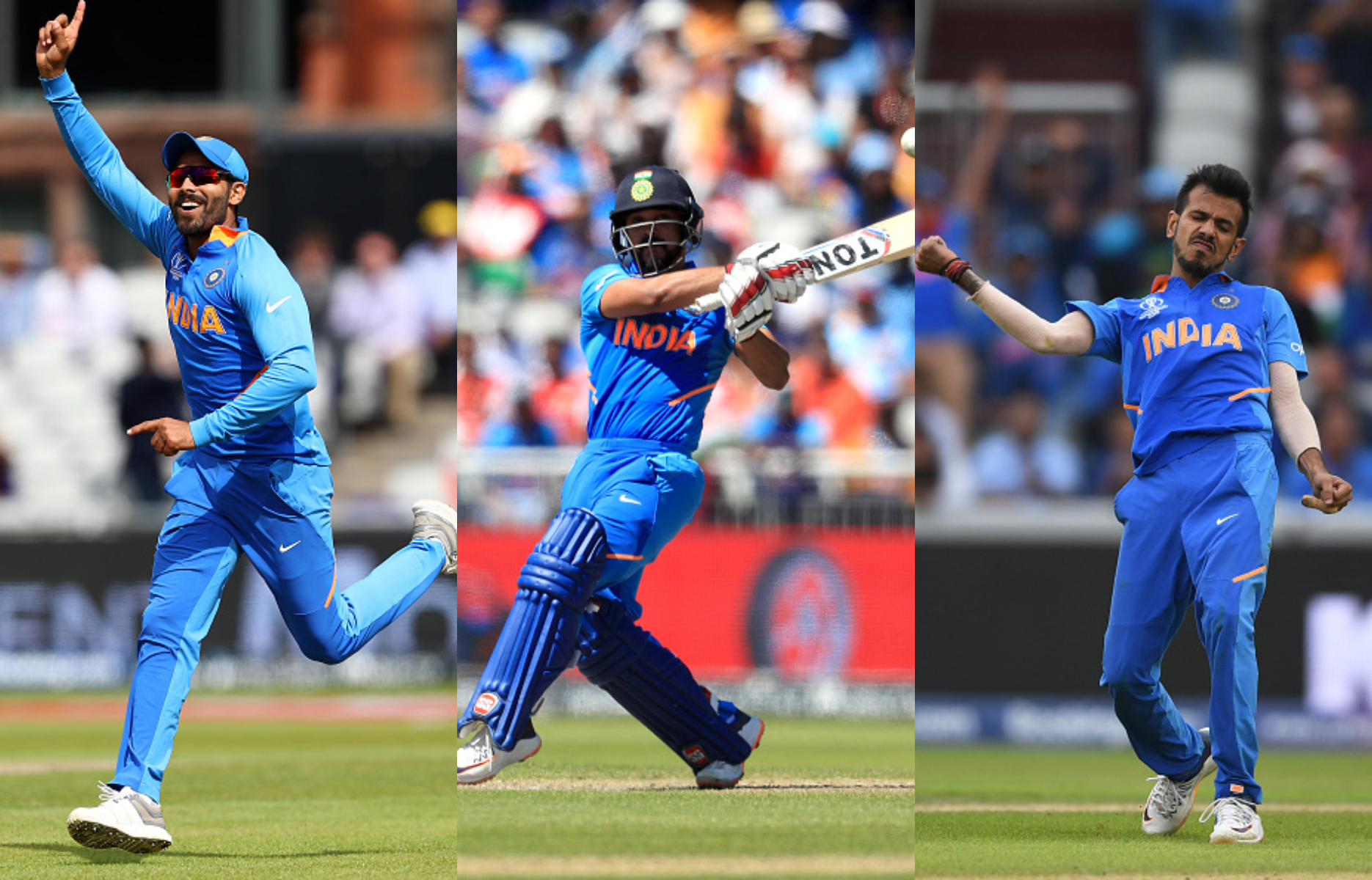 Jadeja, Chahal and Jadhav will be the all-rounder and spinners | Getty