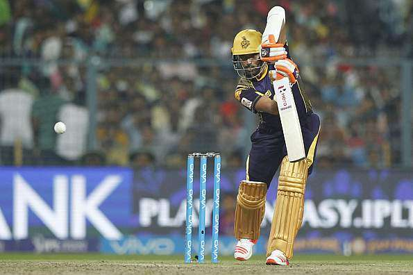 Robin Uthappa with KKR | AFP