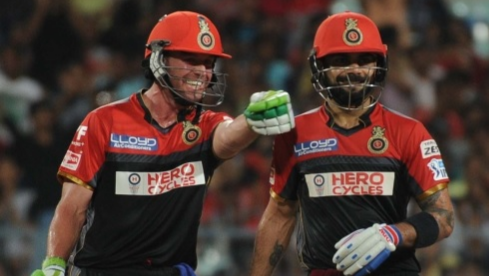Virat Kohli reveals observing AB de Villiers improved him as a batsman