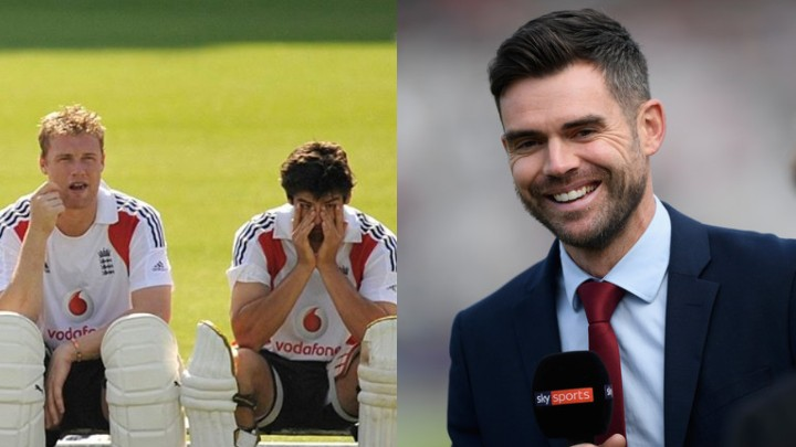 James Anderson drops a hilarious caption on ICC's throwback picture of England cricketers