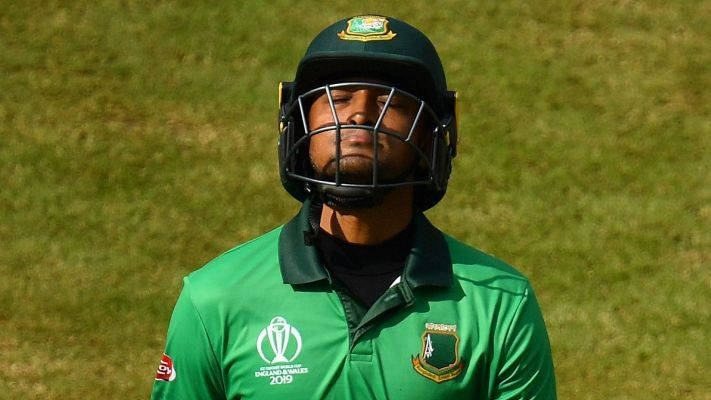 Shakib Al Hasan doesn't find a place in the updated ICC T20I rankings