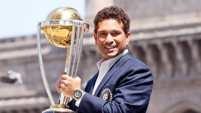 Cricket fraternity sends hearty wishes to celebrate Sachin Tendulkar's 45th birthday on Twitter