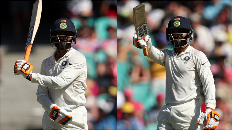 AUS v IND 2018-19: WATCH- Ravindra Jadeja's sword celebration excites the Australian commentators