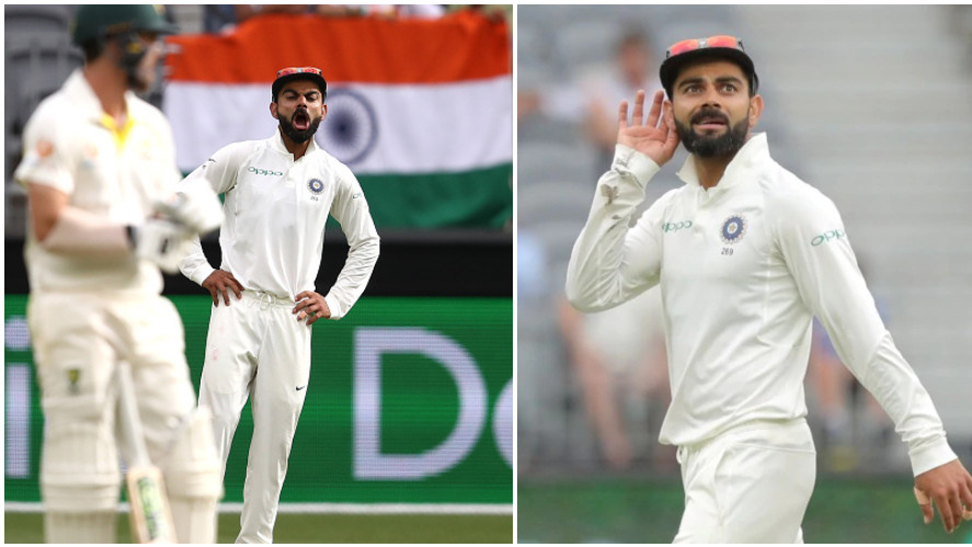 AUS v IND 2018-19: WATCH- A pumped up Virat Kohli urges fans to support the Indian pacers