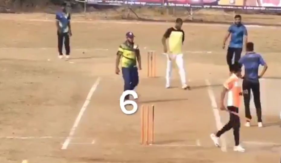 Bowler cops an earful from his teammates as he bowls six wides in a row to lose a seemingly easy match for his team