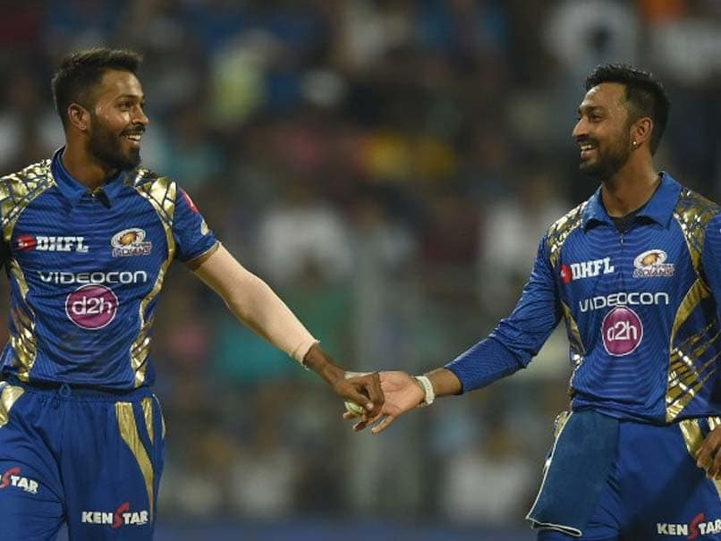 Hardik and Krunal play together for Mumbai Indians in the IPL | AFP