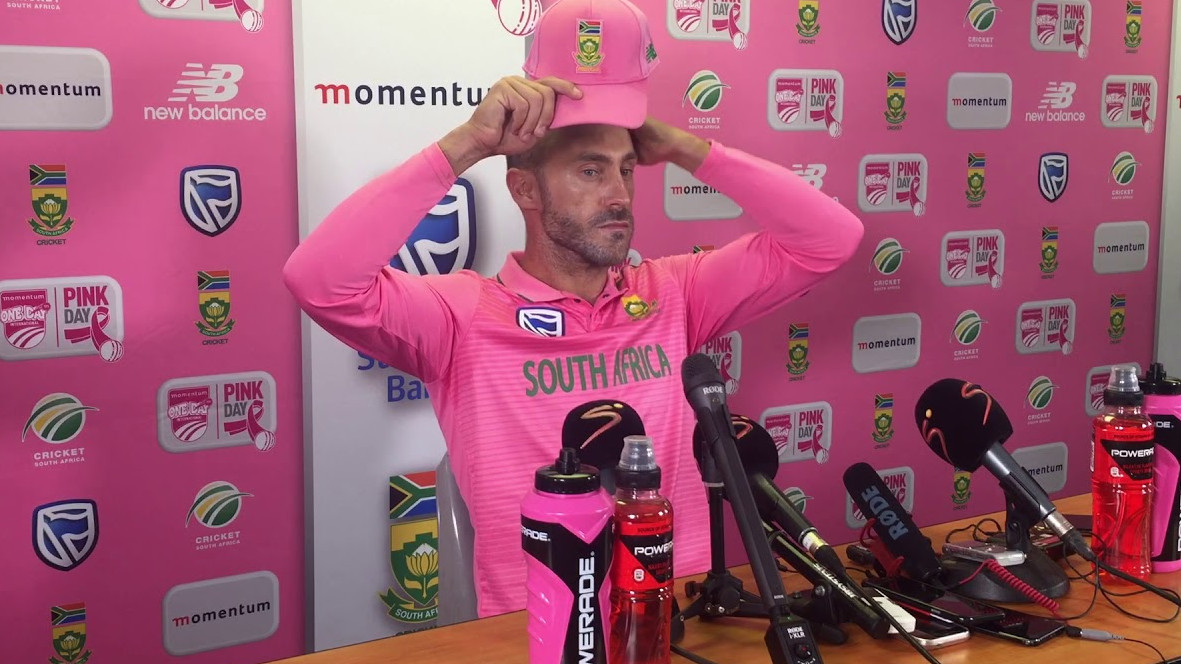 SA v PAK 2018-19: Faf du Plessis disappointed by South Africa's crushing defeat in 'Pink Day' ODI