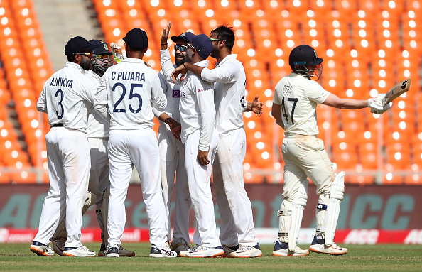 Team India outclassed England in the fourth Test | Getty