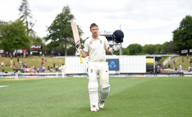 Joe Root scored record 226 runs against New Zealand in Hamilton Test. (photo - getty)