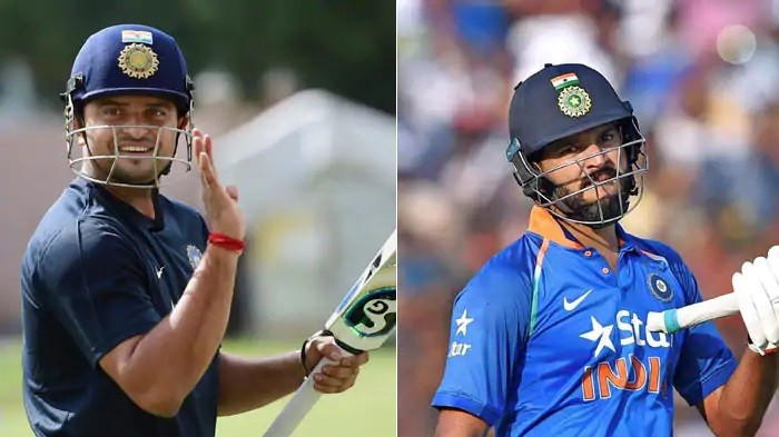 Yuvraj Singh and Suresh Raina pay tribute to left-handed legends on World Left-handers day