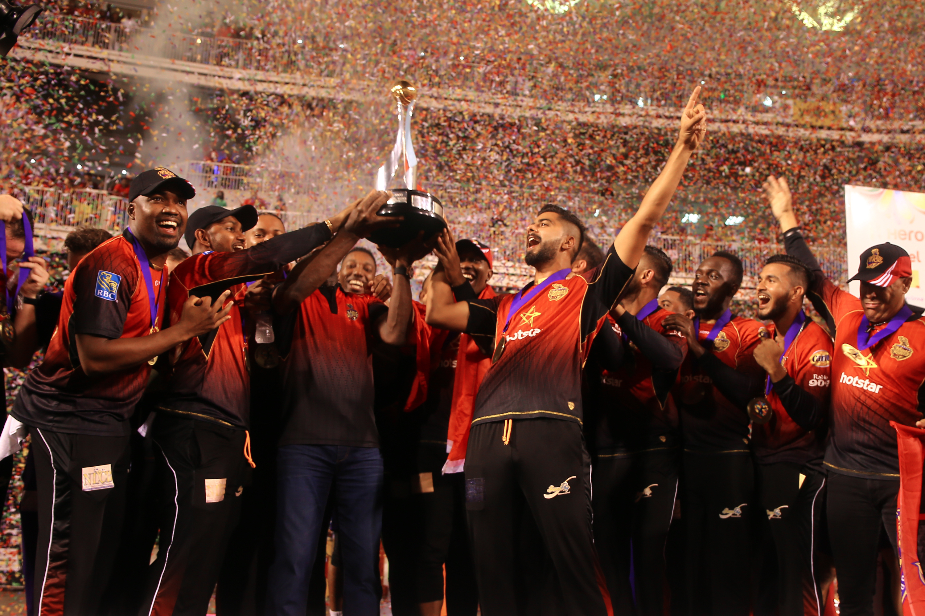 Trinbago Knight Riders stamped their authority as one of the most successful franchise in the world | Getty