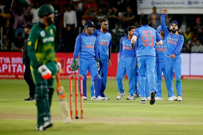 South Africa have already conceded the six-match ODI series to India | BCCI