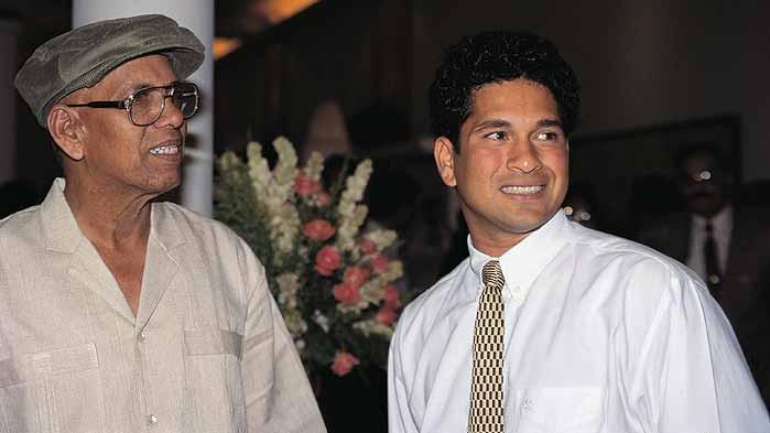 I learnt my ABCD of cricket under Sir's guidance, says Sachin Tendulkar after his coach Ramakant Achrekar passed away