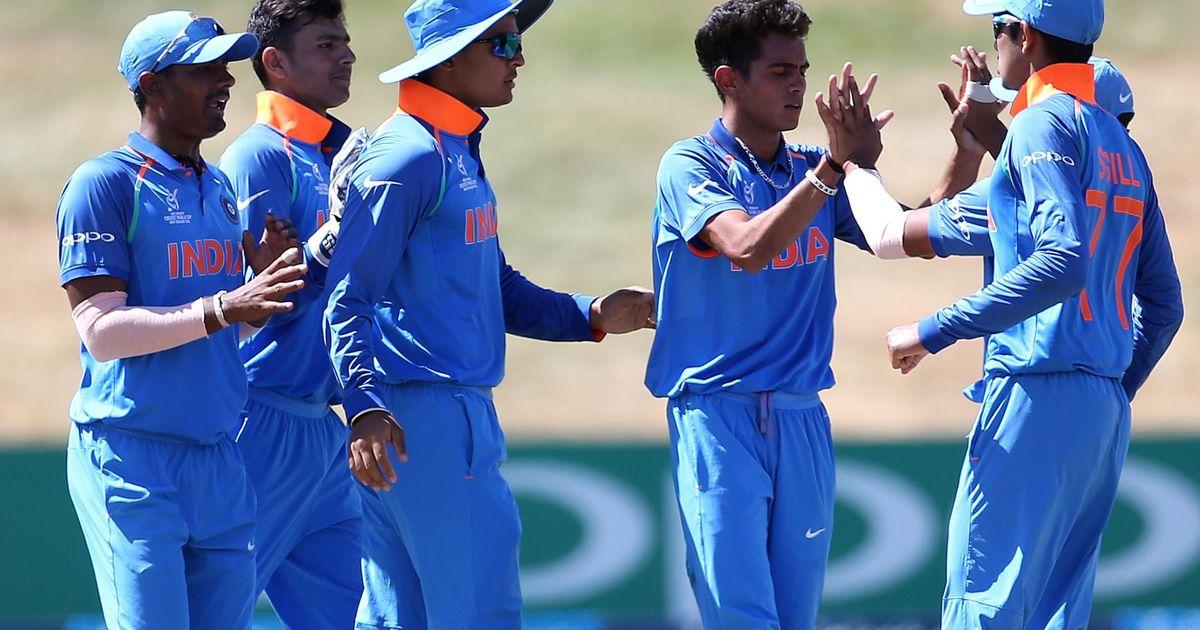 India U-19 beat Pakistan U-19 by 203 runs in the semifinal (Pic Source: ICC Media)