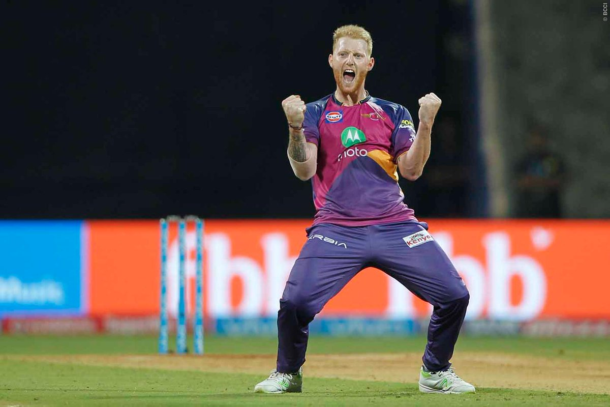 Ben Stokes has played for Rising Pune Supergiants in the last season of IPL | Twitter