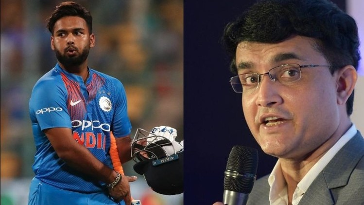 BCCI President Sourav Ganguly terms Rishabh Pant as