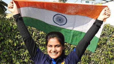 वीरेंद्र सहवाग ने मनु भाकर के दो स्वर्ण पदक जीतने पर किया बधाई ट्वीट