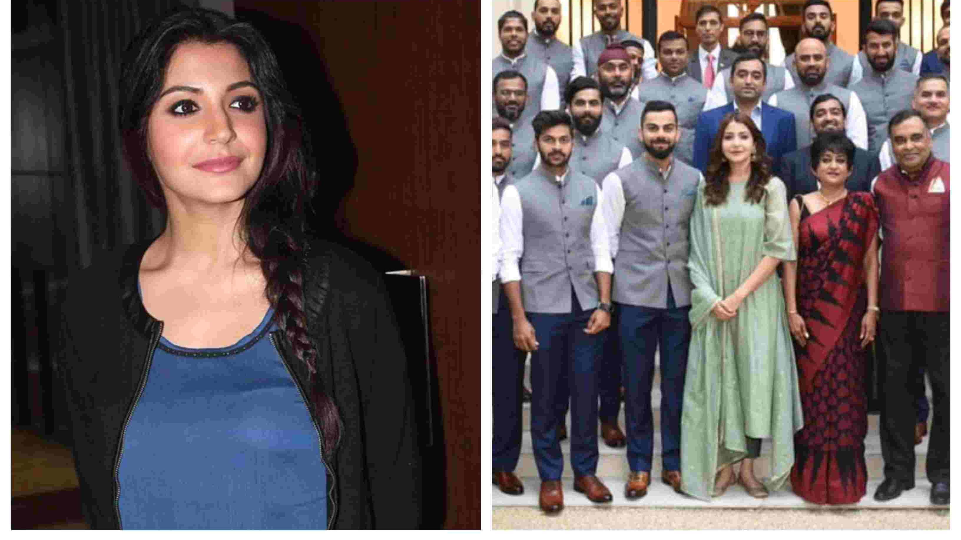 Anushka Sharma breaks silence over her presence at the Indian High Commission