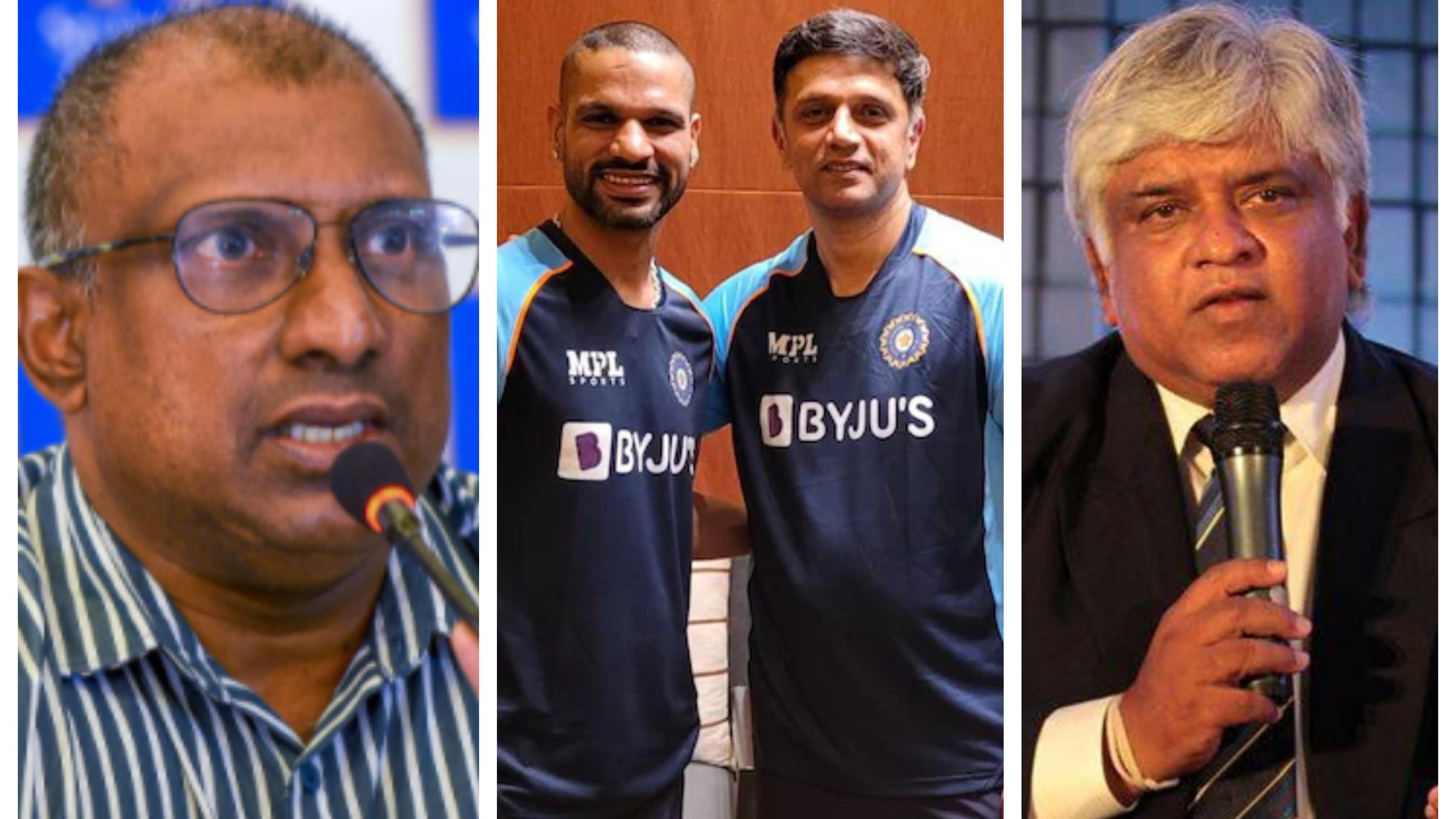 "SL v IND 2021: Aravinda de Silva debunks Arjuna Ranatunga's ""second-string"" comment on visiting Indian team"