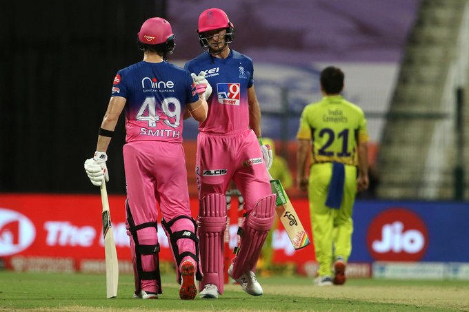 Buttler and Smith shared a 98-run stand for the fourth wicket | IPL/BCCI