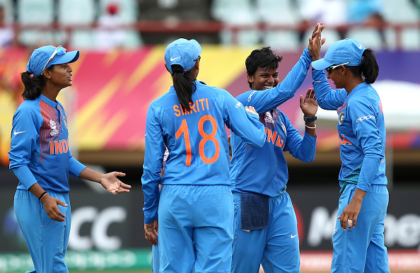 Deepti Sharma delivered a fantastic spell for India | Getty