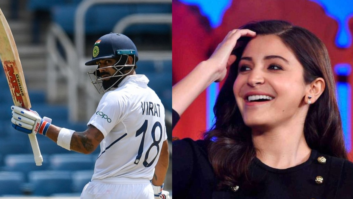 IND v SA 2019: Anushka Sharma reacts to Virat Kohli's 254* in Pune Test