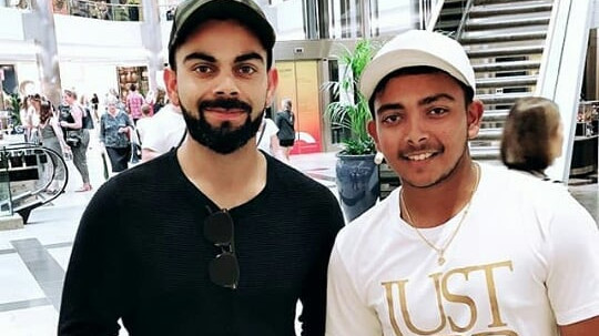 Prithvi Shaw reveals Virat Kohli told him how to score runs in England
