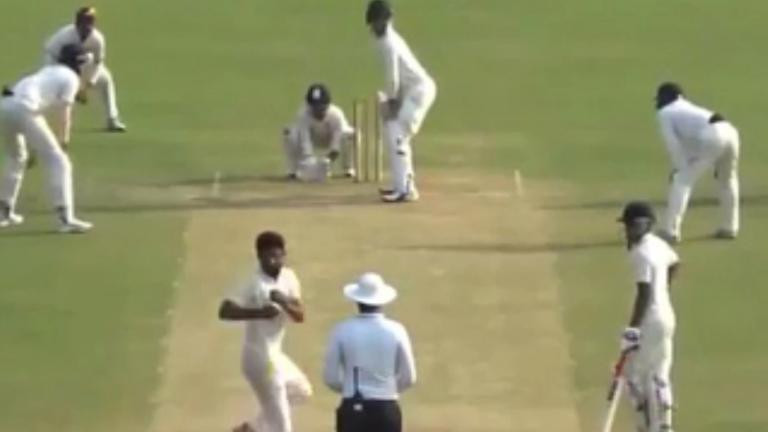 MCC issues statement on UP bowler Shiva Singh's bizarre delivery