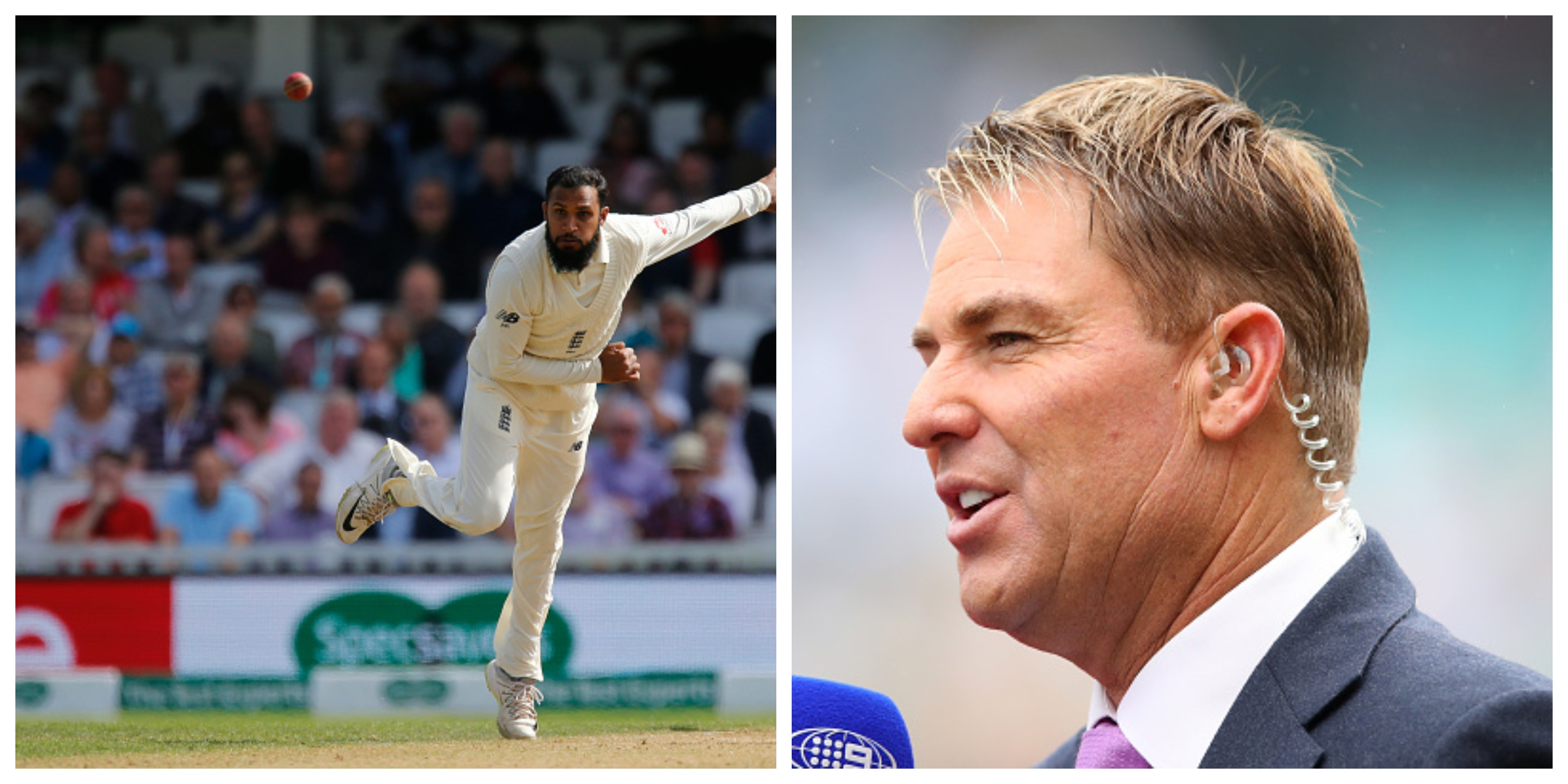 Warne thinks England should give all the confidence and backing to Adil Rashid. | Getty