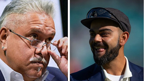 ENG v IND 2018: Vijay Mallya seen entering The Oval to watch the fifth Test
