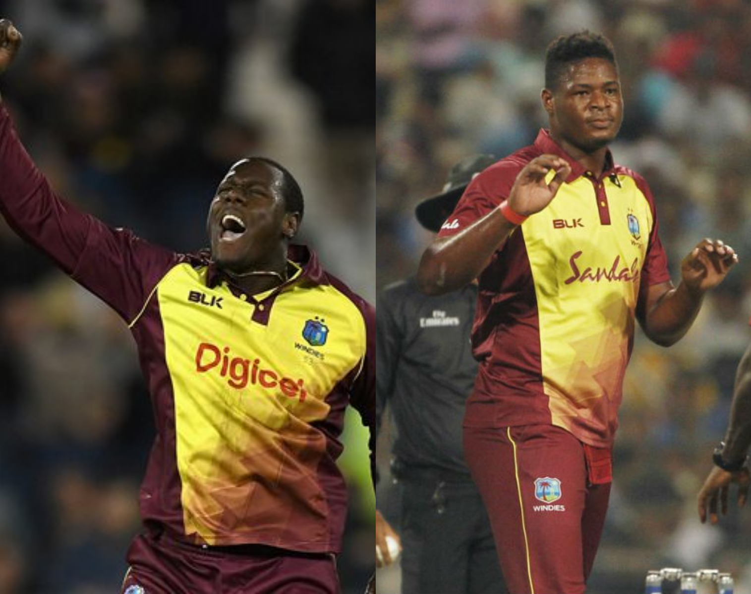 Carlos Brathwaite and Oshane Thomas made the Indian batsmen work hard for runs