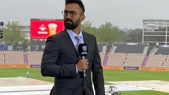 Dinesh Karthik reveals he received abuses for not waking up at 6 AM to give weather report during WTC final