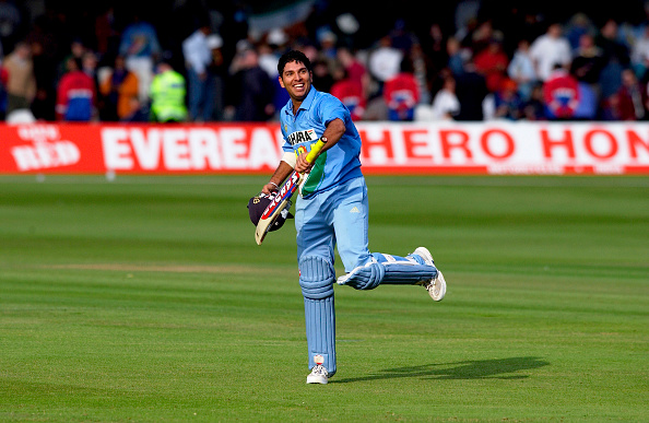 Yuvraj Singh scored an amazing fifty in NatWest trophy finals in 2002 | Getty