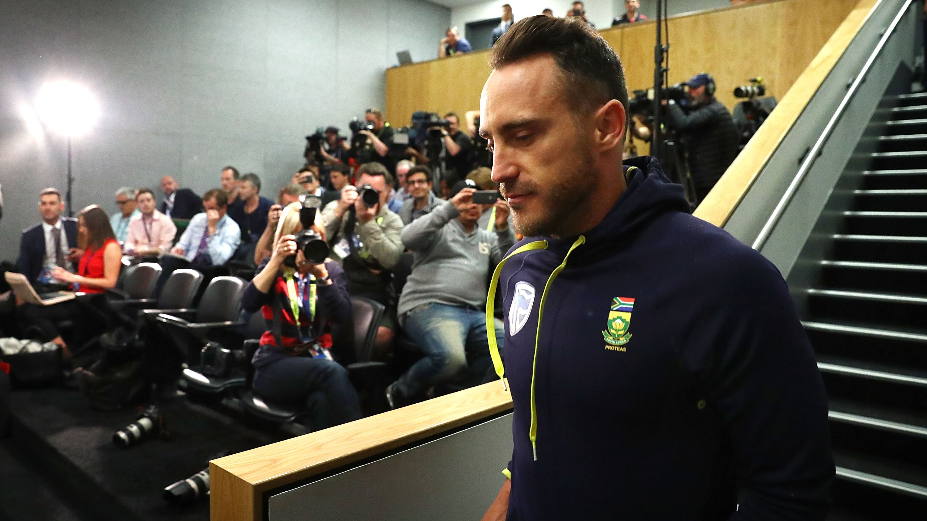 Faf du Plessis wants South Africa to be courageous at the World Cup next year