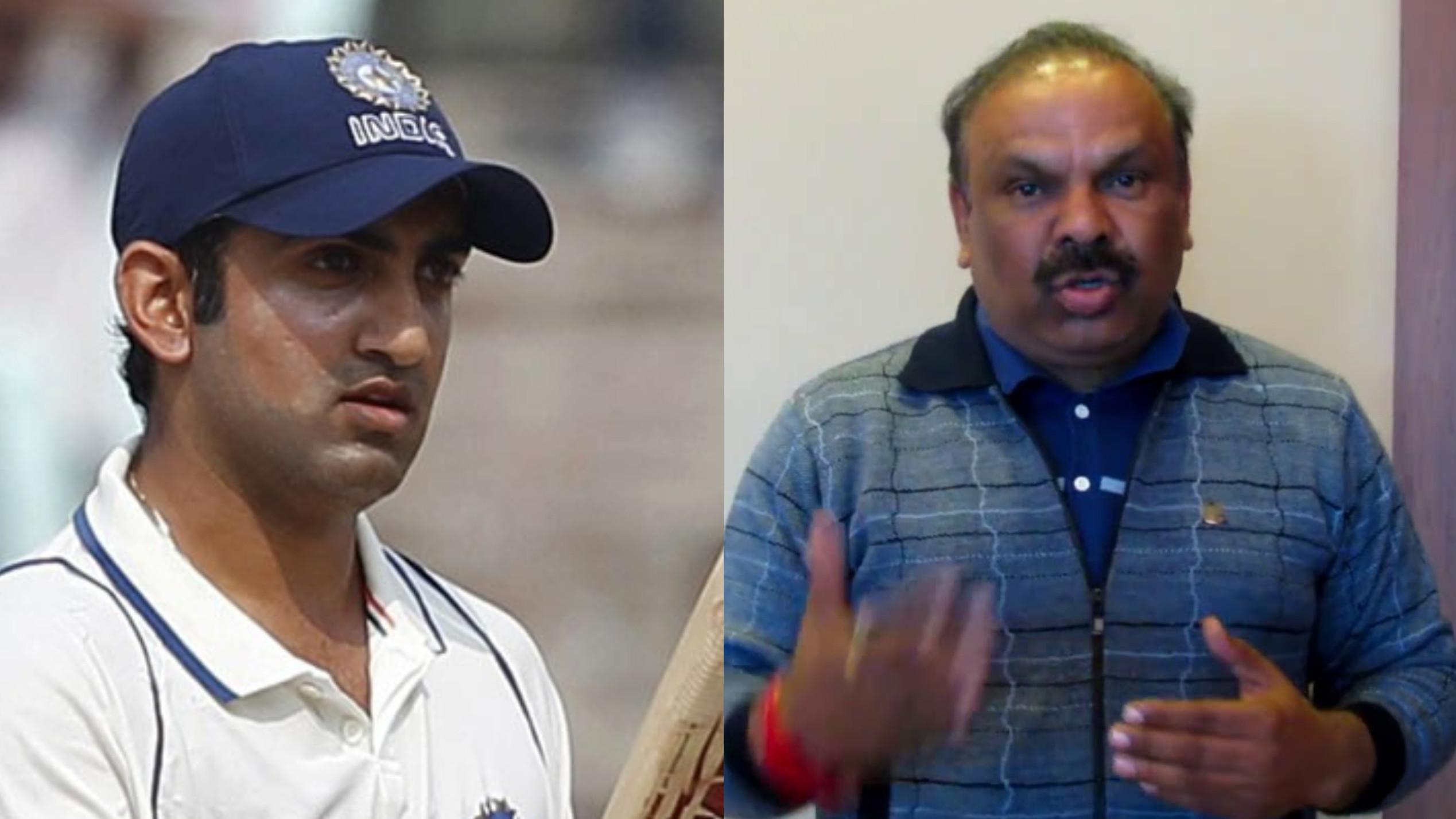 कोच संजय भारद्वाज के अनुसार गौतम गंभीर हमेशा अपने खेल के बारे में ईमानदार रहे हैं