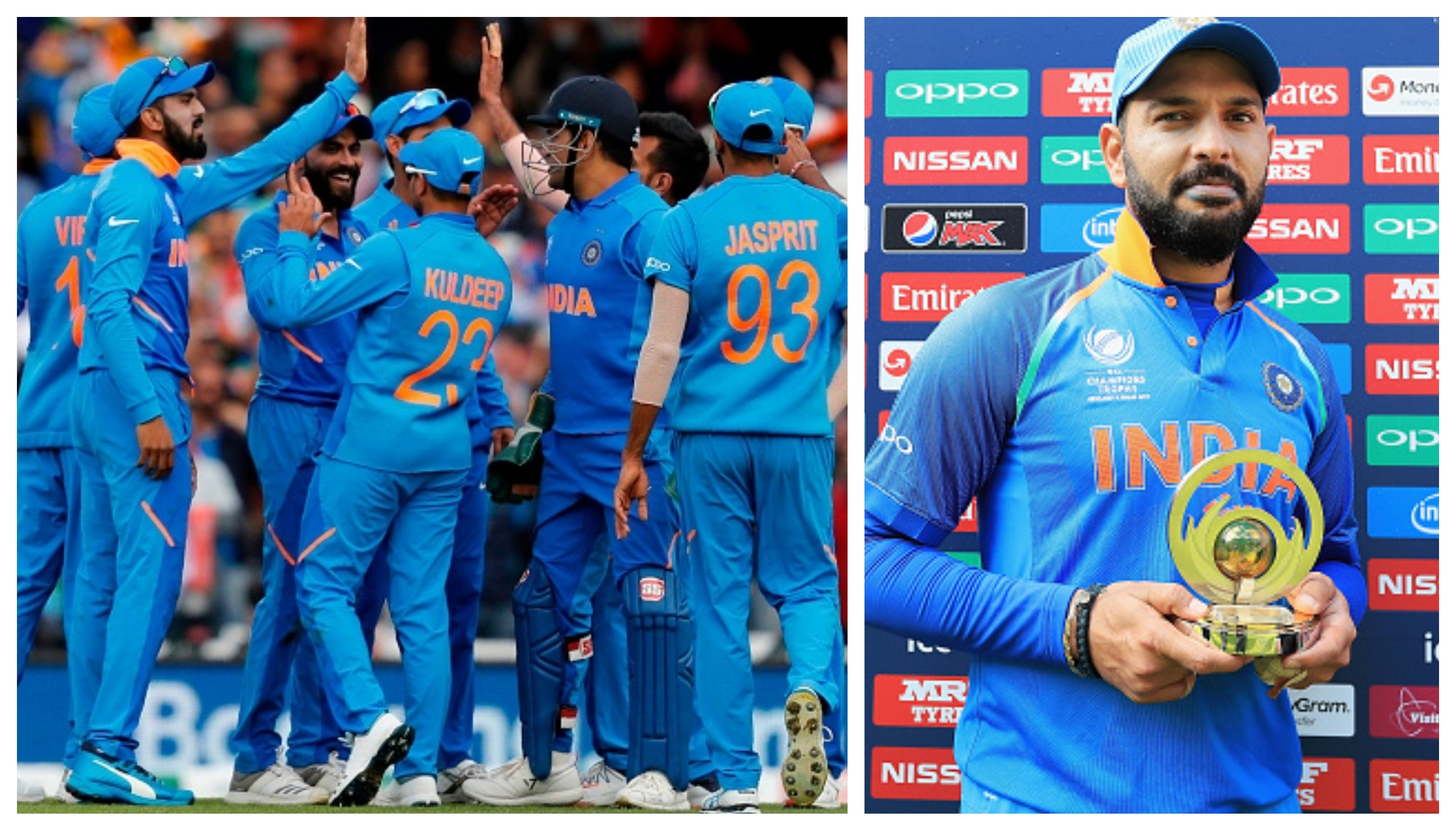 CWC 2019: Team India's World Cup-bound players congratulate Yuvraj Singh on a stellar career