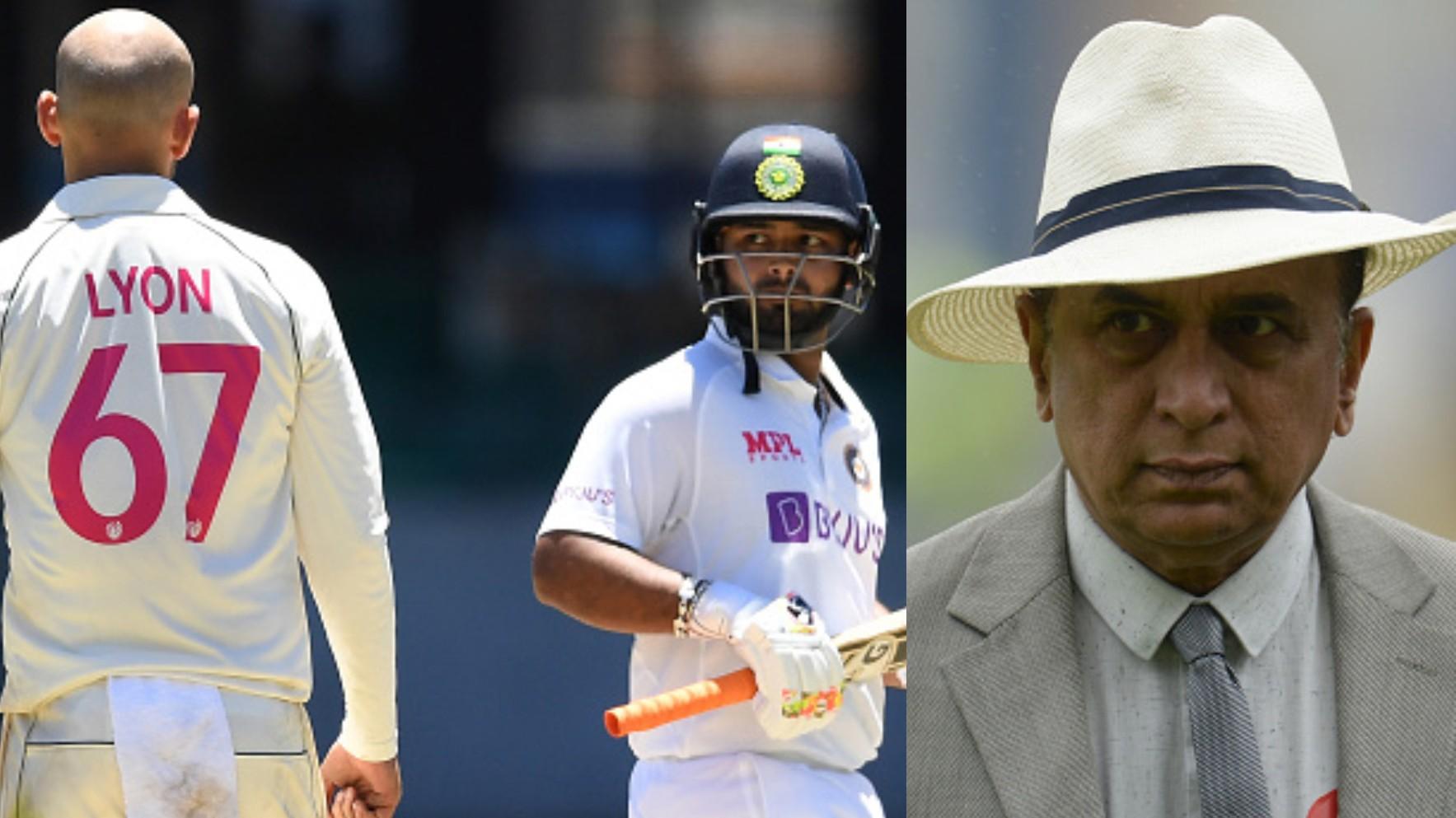AUS v IND 2020-21: Sunil Gavaskar hails Rishabh Pant's calculated approach against Lyon