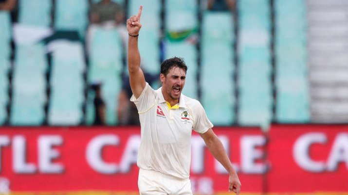Mitchell Starc reaches 5th spot and Marsh brothers achieve career best rankings in Tests after Durban win