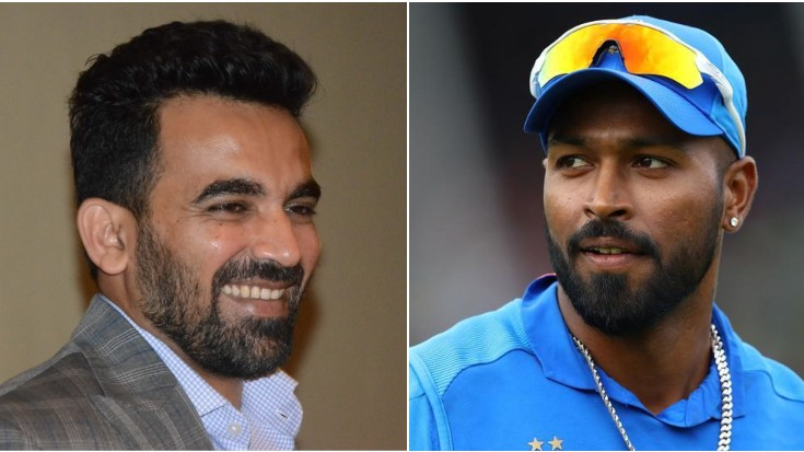 Zaheer Khan gets better of Hardik Pandya with his response to birthday wish