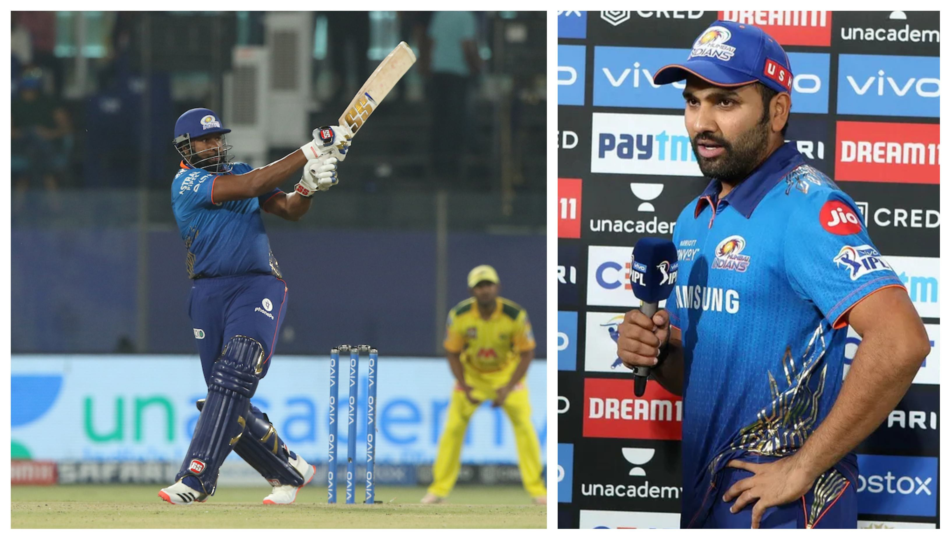 IPL 2021: 'Never seen a chase like that before, one of the best innings from Pollard', says Rohit Sharma