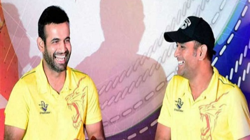 IPL 2018: Irfan Pathan reveals his favourite 'Thala Dhoni' moment