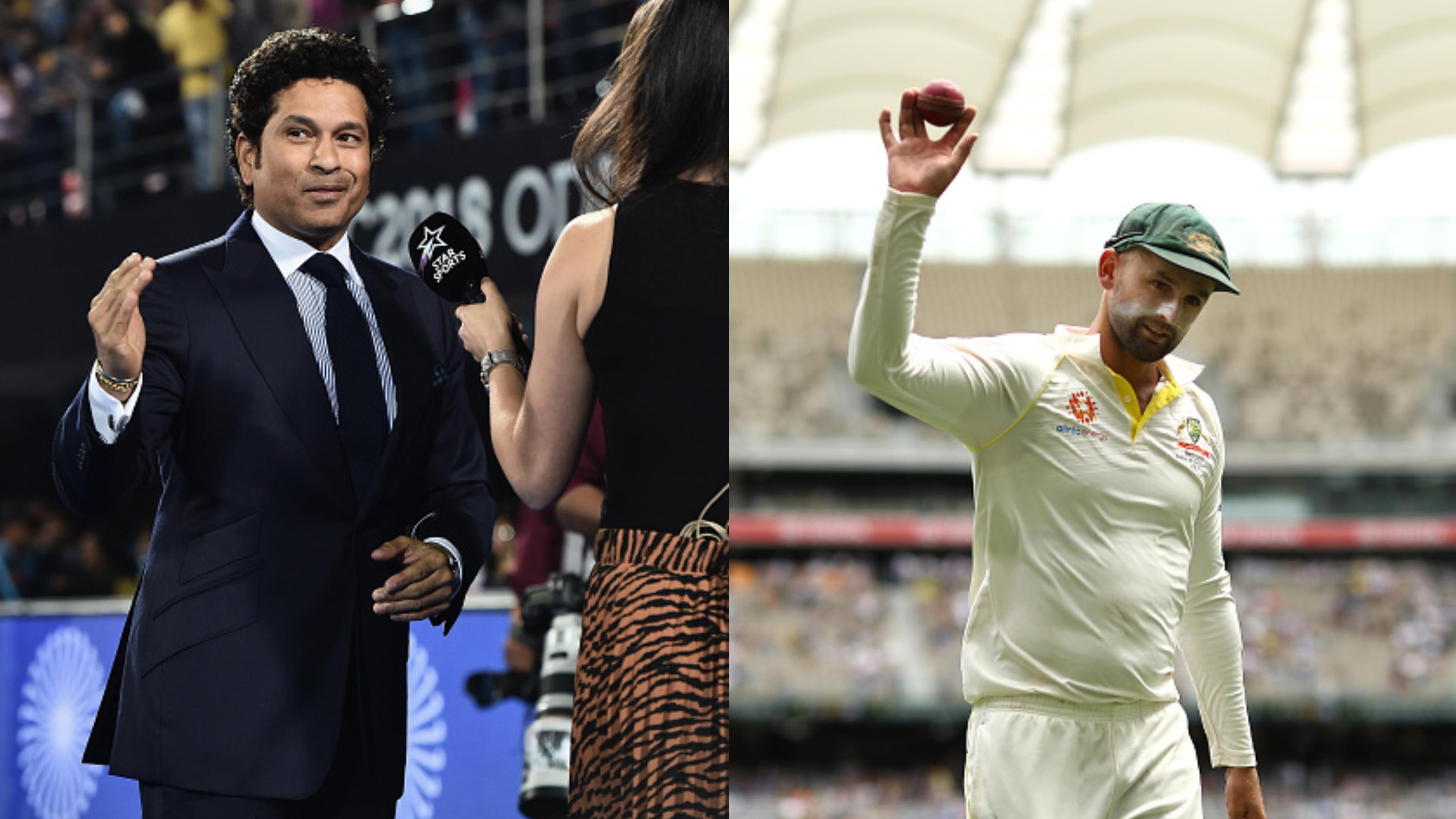 AUS v IND 2018-19: Sachin Tendulkar praises Nathan Lyon after his Perth show, calls him a
